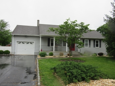 Bridgewater Twp. NJ Single Family Home For Sale: $392,900