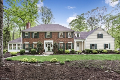 Mendham Boro, Mendham Twp. Single Family Home For Sale: 25 N Gate Rd
