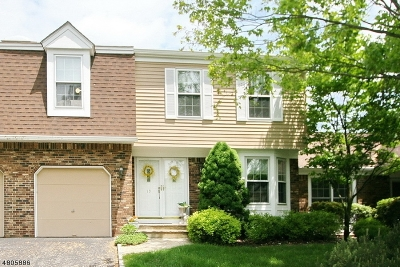 Bernards Twp., Bernardsville Boro Condo/Townhouse For Sale: 19 Dexter Dr N