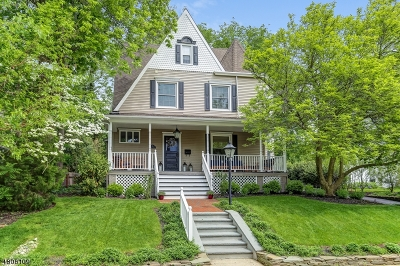 Summit Single Family Home For Sale: 15 Shadyside Ave