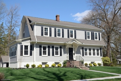 Cranford Twp. Single Family Home For Sale: 122 Eastman St