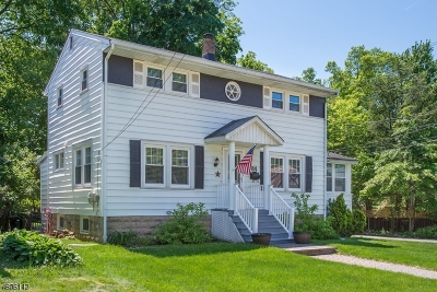West Caldwell Twp. Single Family Home For Sale: 84 Ravine Ave