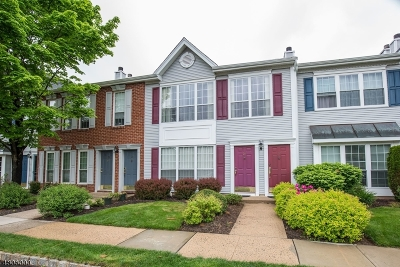 Franklin Twp. NJ Condo/Townhouse For Sale: $219,900