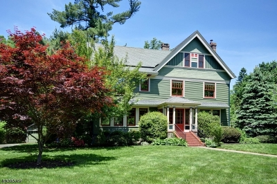 Westfield Town Single Family Home For Sale: 234 W Dudley Ave