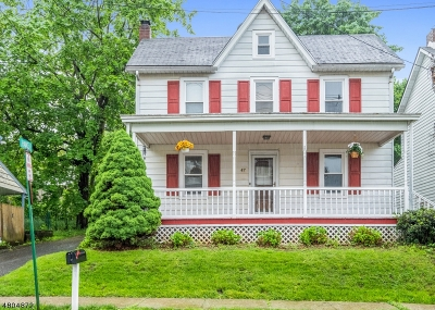 Bloomsbury Boro Single Family Home For Sale: 47 Brunswick Ave