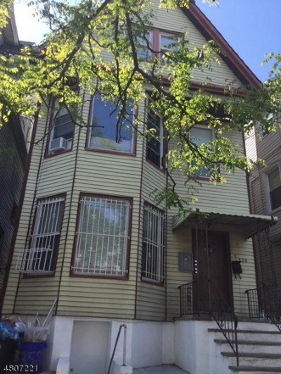 Newark City NJ Multi Family Home For Sale: $415,000