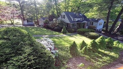 Parsippany-Troy Hills Twp. Single Family Home For Sale: 154 Rainbow Trl