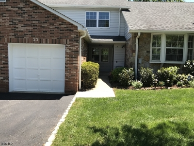 Chatham Twp Condo/Townhouse For Sale: 22 Coachlight Dr