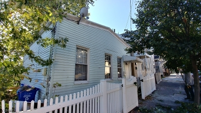 Paterson City Single Family Home For Sale: 132 N 4th St