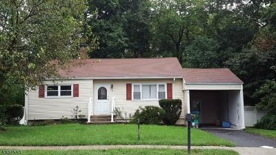 Edison Twp. Single Family Home For Sale: 5 Nancy Cir