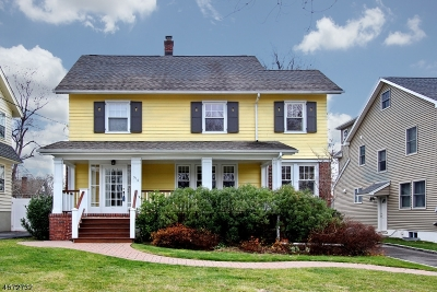 Millburn Twp. Single Family Home Active Under Contract: 516 Wyoming Ave