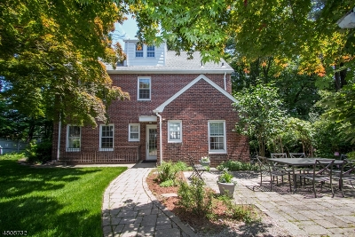 Morristown Town Single Family Home For Sale: 84 Sussex Ave