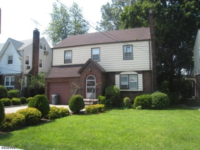 Passaic City Single Family Home For Sale: 163 Ascension St