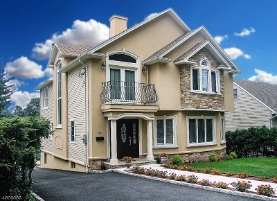 Nutley Twp. NJ Single Family Home For Sale: $624,500