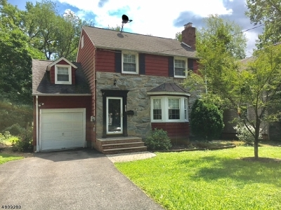 Fanwood Boro Single Family Home For Sale: 42 Chetwood Ter
