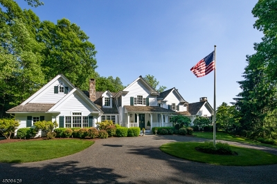 Bernardsville Boro Single Family Home For Sale: 70 Post Kennel Rd