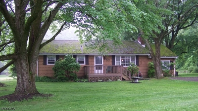 Lebanon Twp. Single Family Home For Sale: 103 Voorhees Rd