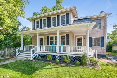 Chatham Boro Single Family Home For Sale: 6 Garden Pl