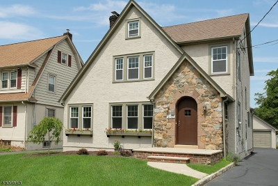 Scotch Plains Twp. Single Family Home For Sale: 2103 Westfield Ave