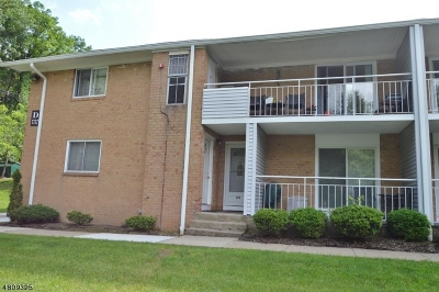 Parsippany-Troy Hills Twp. Condo/Townhouse For Sale: 2350 Route 10-D17