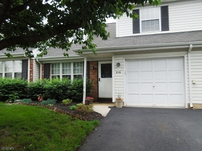 Franklin Twp. Condo/Townhouse For Sale: 215 Coldspring Ct