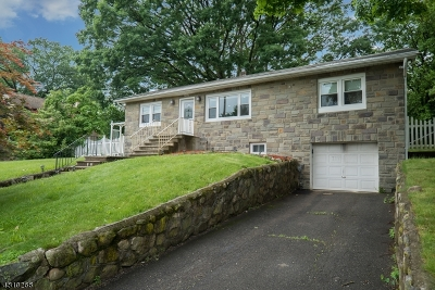 North Haledon Boro Single Family Home For Sale: 1117 Belmont Ave