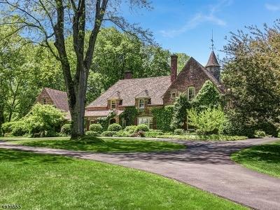 Harding Twp. Single Family Home For Sale: 587 Van Beuren Rd
