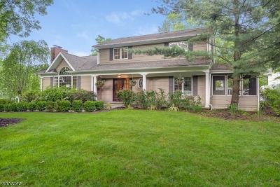 Berkeley Heights Single Family Home For Sale: 106 Glenside Rd