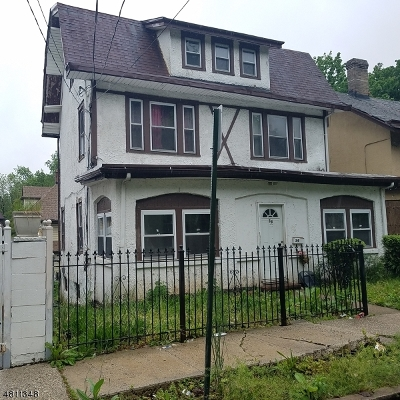 Newark City Single Family Home Active Under Contract