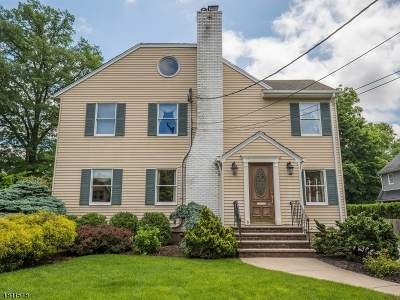Glen Rock Boro Single Family Home For Sale: 8 Warren Pl