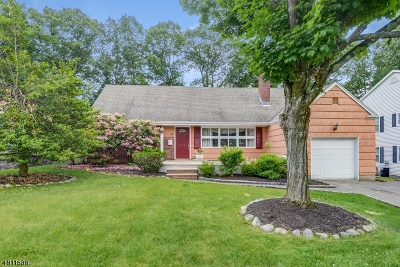 West Caldwell Twp. Single Family Home For Sale: 136 Washington Ave