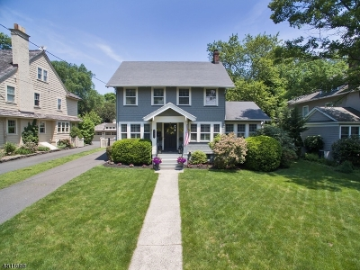Westfield Town NJ Single Family Home For Sale: $975,000