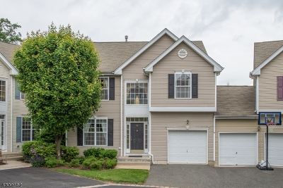 Mount Olive Twp. Condo/Townhouse For Sale: 56 Brock Ln
