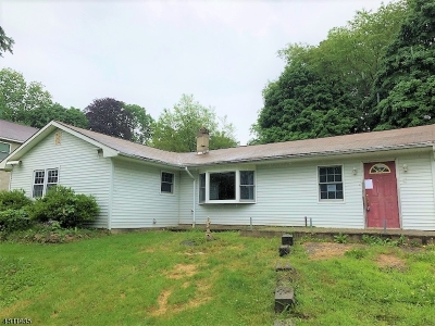 Mount Olive Twp. Single Family Home For Sale: 12a Baker Ln