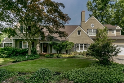 Westfield Town NJ Single Family Home For Sale: $1,395,000