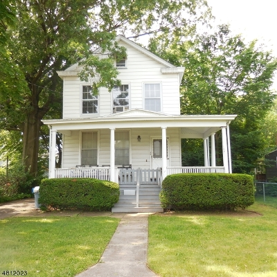 Somerset County Single Family Home For Sale: 116 Bartine St