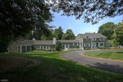 Peapack Gladstone Boro Single Family Home For Sale: 12 Highland Ave