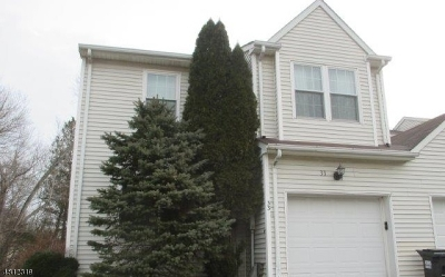 Branchburg Twp. Condo/Townhouse For Sale: 33 Iroquois Trl