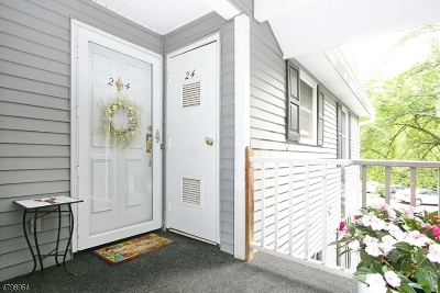 Bernards Twp. Condo/Townhouse For Sale: 24 Countryside Dr
