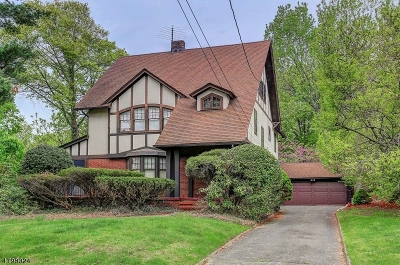 Westfield Town NJ Single Family Home For Sale: $899,900