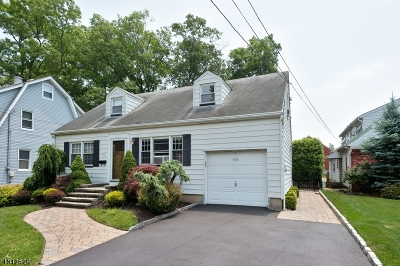 Cranford Twp. Single Family Home For Sale: 22 Wade Ave