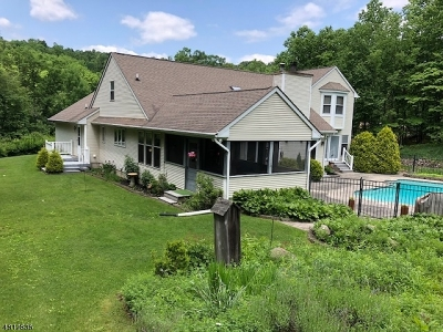 Holland Twp. Single Family Home For Sale: 191 Church Rd
