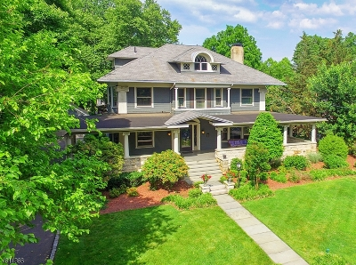 Westfield Town NJ Single Family Home For Sale: $1,373,000