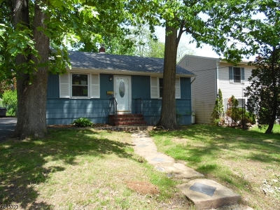 Parsippany-Troy Hills Twp. Single Family Home For Sale: 119 Minnehaha Blvd