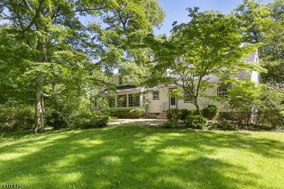 Morris Plains Boro Single Family Home For Sale: 33 Old Wood Rd
