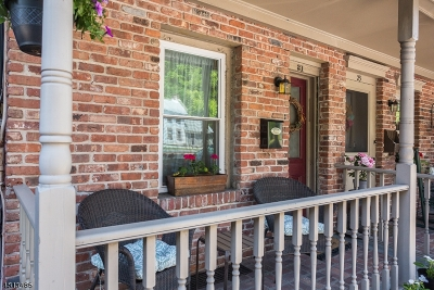 Hunterdon County Condo/Townhouse For Sale: 21 N Franklin St