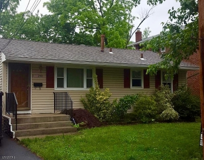 Kenilworth Boro Single Family Home For Sale: 240 N 11th St