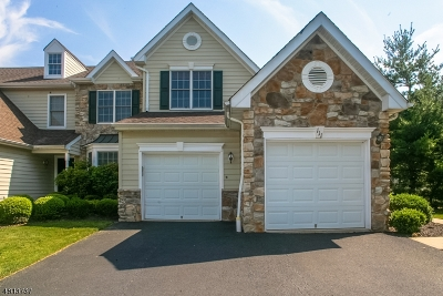 Bernards Twp. Condo/Townhouse For Sale: 111 Watchung Dr