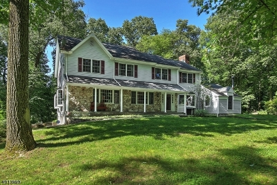 Bernardsville Boro Single Family Home For Sale: 17 Crest Dr