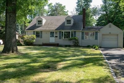 Scotch Plains Twp. Single Family Home For Sale: 358 Acacia Rd